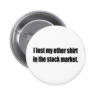 Perdí mi otra camisa en el mercado de acción pin