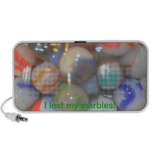 ¡Perdí mis mármoles! Mini Altavoces