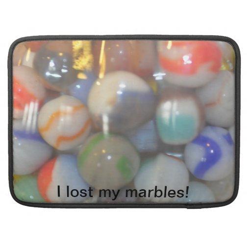 ¡Perdí mis mármoles! Funda Para Macbook Pro