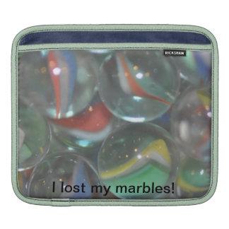 ¡Perdí mis mármoles! Fundas Para iPads
