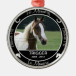 - Pérdida de caballo - foto de encargo conmemorati Ornamento De Reyes Magos