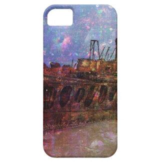 PERDIDO A LOS ESTRAGOS del shipwre de la ruina de iPhone 5 Fundas