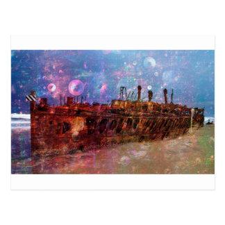 PERDIDO A LOS ESTRAGOS del shipwre de la ruina de Tarjetas Postales