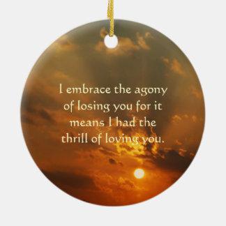 Perdido amado un ornamento adorno de reyes