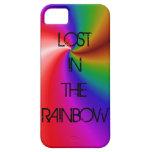 Perdido en el arco iris iPhone 5 Case-Mate protector