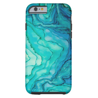Perdido en el caso del iPhone 6 del mar Funda De iPhone 6 Tough