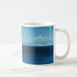 Perdido en el mar taza