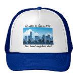 Perdido en gorra divertido de NYC