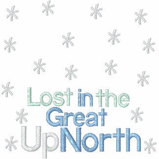 Perdido en la gran camiseta del EM de UpNorth