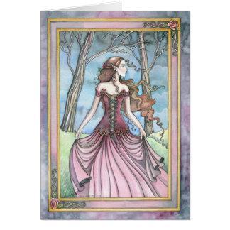 Perdido en princesa Fantasy Artwork de Avalon Felicitaciones