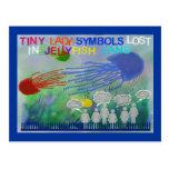 Perdido en tierra de las medusas postales
