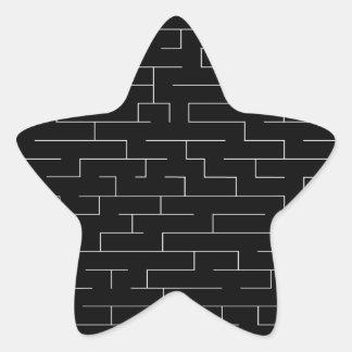 Perdido Pegatina En Forma De Estrella