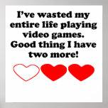 Perdió mi vida que jugaba a los videojuegos impresiones