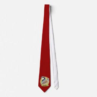 Perdiz de Chukar combinada Corbata Personalizada