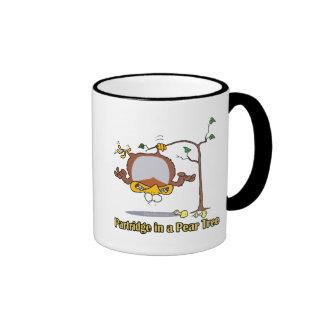 perdiz en navidad de un día del peral el 1r primer taza de café
