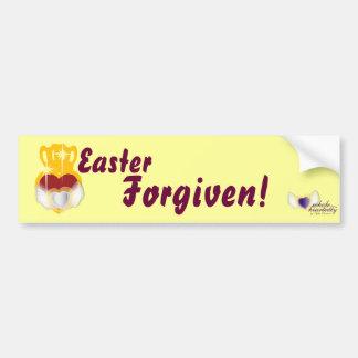Perdonar-Personalizar de Pascua Pegatina Para Auto