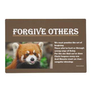 Perdone a otros - Placemat Tapete Individual