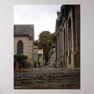 Père Lachaise Cemetery - 1 Print