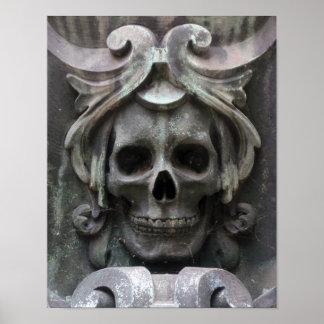 Père Lachaise Cemetery 2 Print