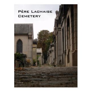Père Lachaise Cemetery Postcard