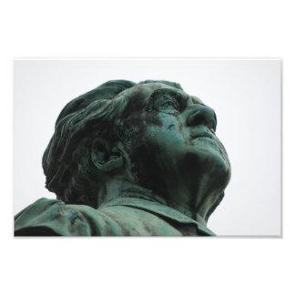 Père Lachaise Cemetery Statuary Photo Print