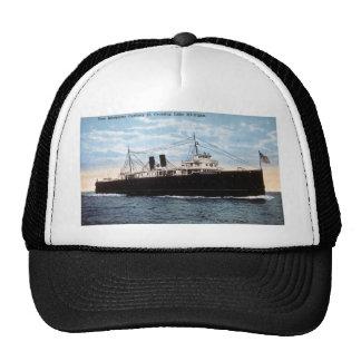 Pere Marquette Car Ferry 21 Crossing Lake Michigan Trucker Hat