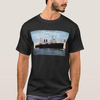 Pere Marquette Car Ferry 21 Crossing Lake Michigan T-Shirt