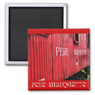 Pere Marquette 2 Inch Square Magnet
