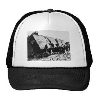 Pere Marquette Railway Freight Wreck Trucker Hat