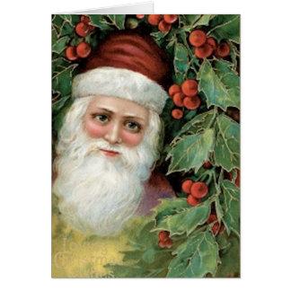 Pere Noel Greeting Card