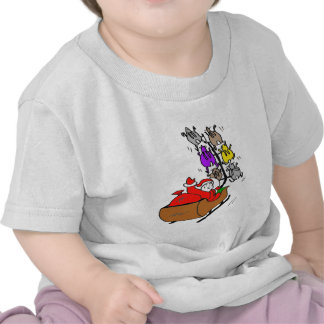 PERE NOEL LAPINS1 png T-shirts
