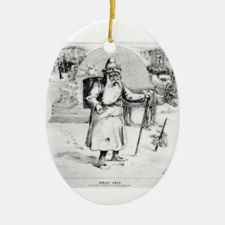 Pere Noel Xmas 1875 Christmas Tree Ornament