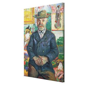 Pere Tanguy, 1887-88 Impresiones En Lienzo Estiradas