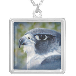 Peregrine-airbrush Personalized Necklace