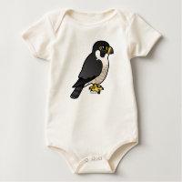 Cute Peregrine Falcon Infant Organic Creeper