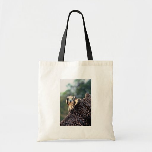 Peregrine Falcon Canvas Bags
