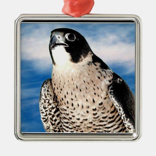 Peregrine Falcon Christmas Ornament