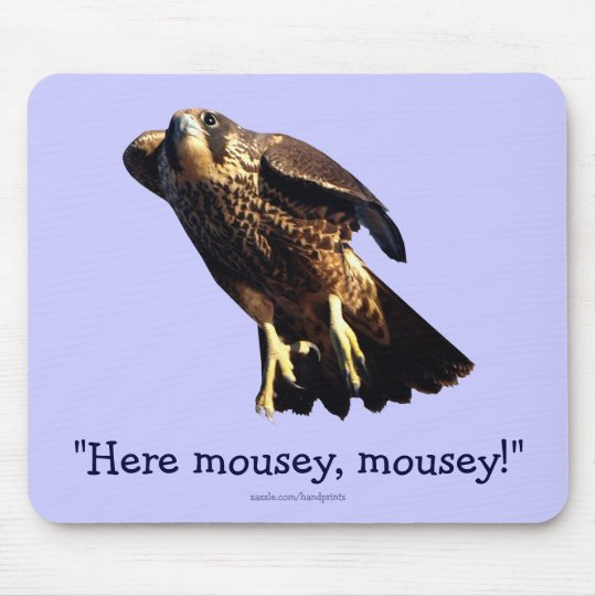 PEREGRINE FALCON Collection Mouse Pad