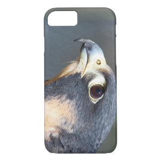 Peregrine Falcon in Profile iPhone 8/7 Case