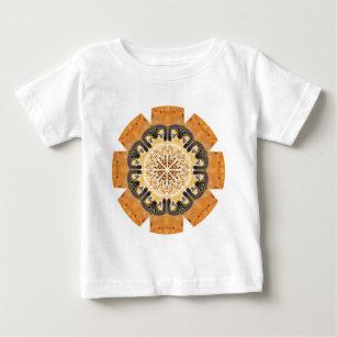 863ca531 Peregrine Falcon Kaleidoscope Baby T-Shirt
