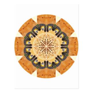 Peregrine Falcon Kaleidoscope Postcard