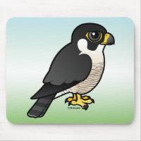Cute Peregrine Falcon Mousepad