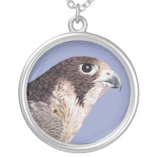 Peregrine Falcon Personalized Necklace