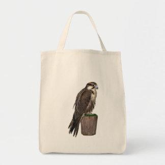Peregrine Falcon Organic Tote