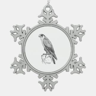 Peregrine Falcon Ornaments