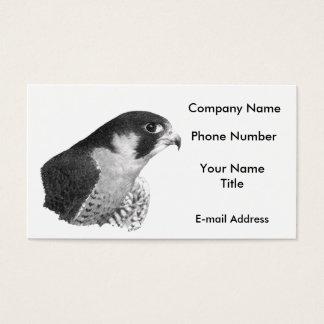Peregrine Falcon-Pencil Business Card