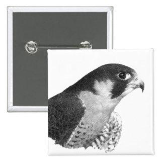 Peregrine Falcon-Pencil Buttons