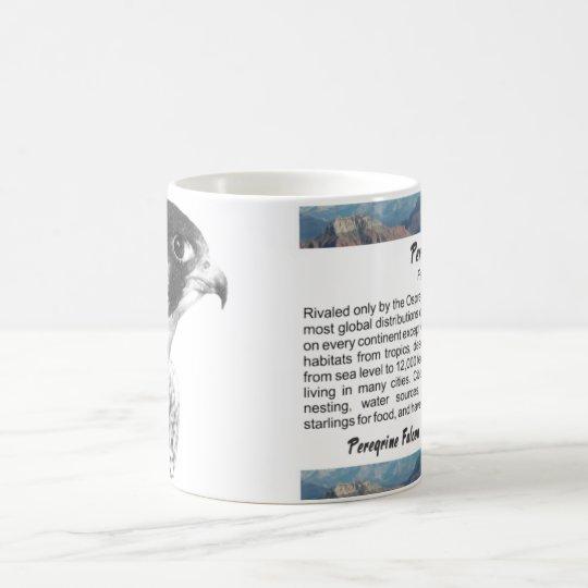 Peregrine Falcon-Pencil Coffee Mug