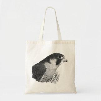 Peregrine Falcon-Pencil Tote Bag