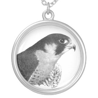 Peregrine Falcon-Pencilnb Pendants
